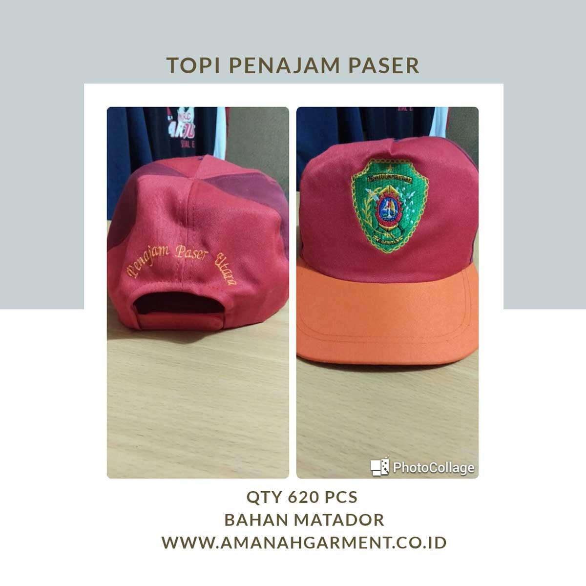 Vendor topi bandung